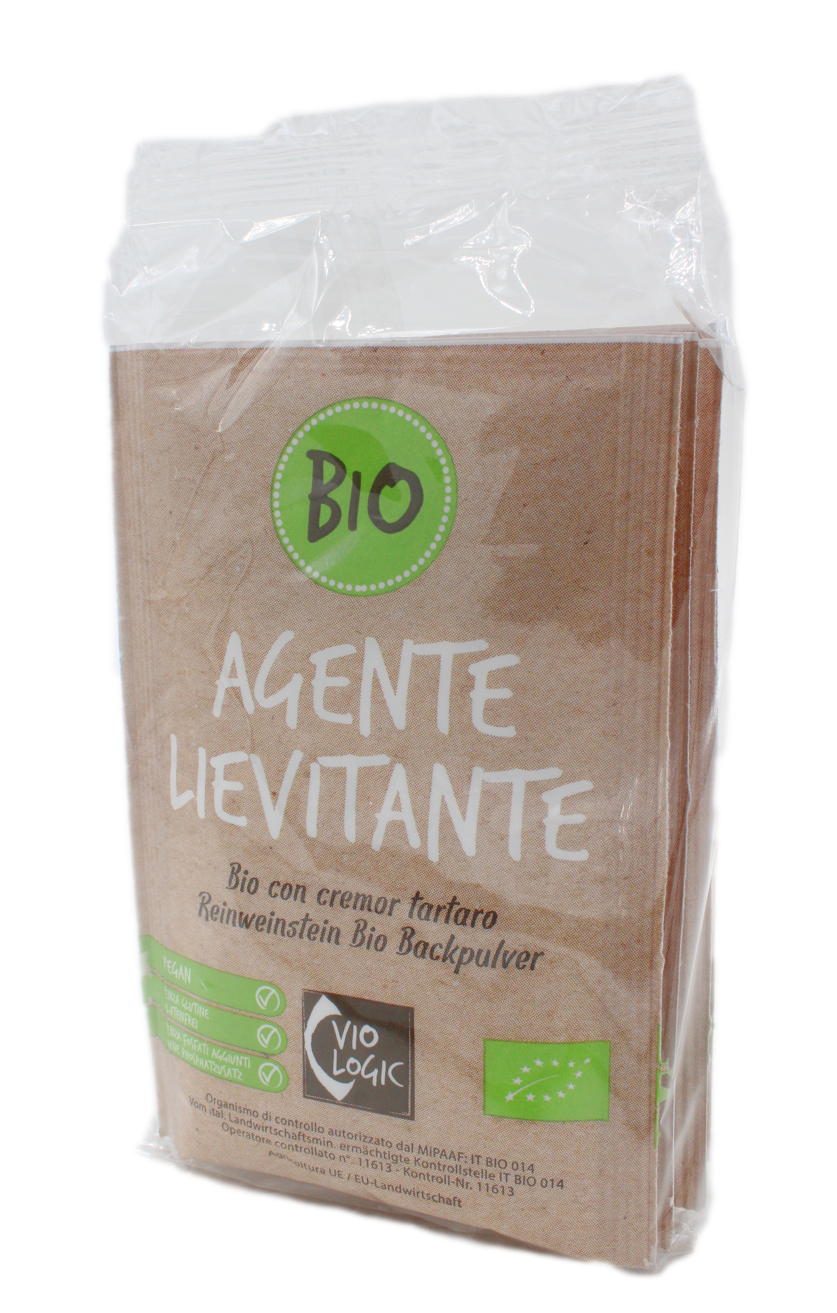 Reinweinstein Bio Backpulver  4x17g