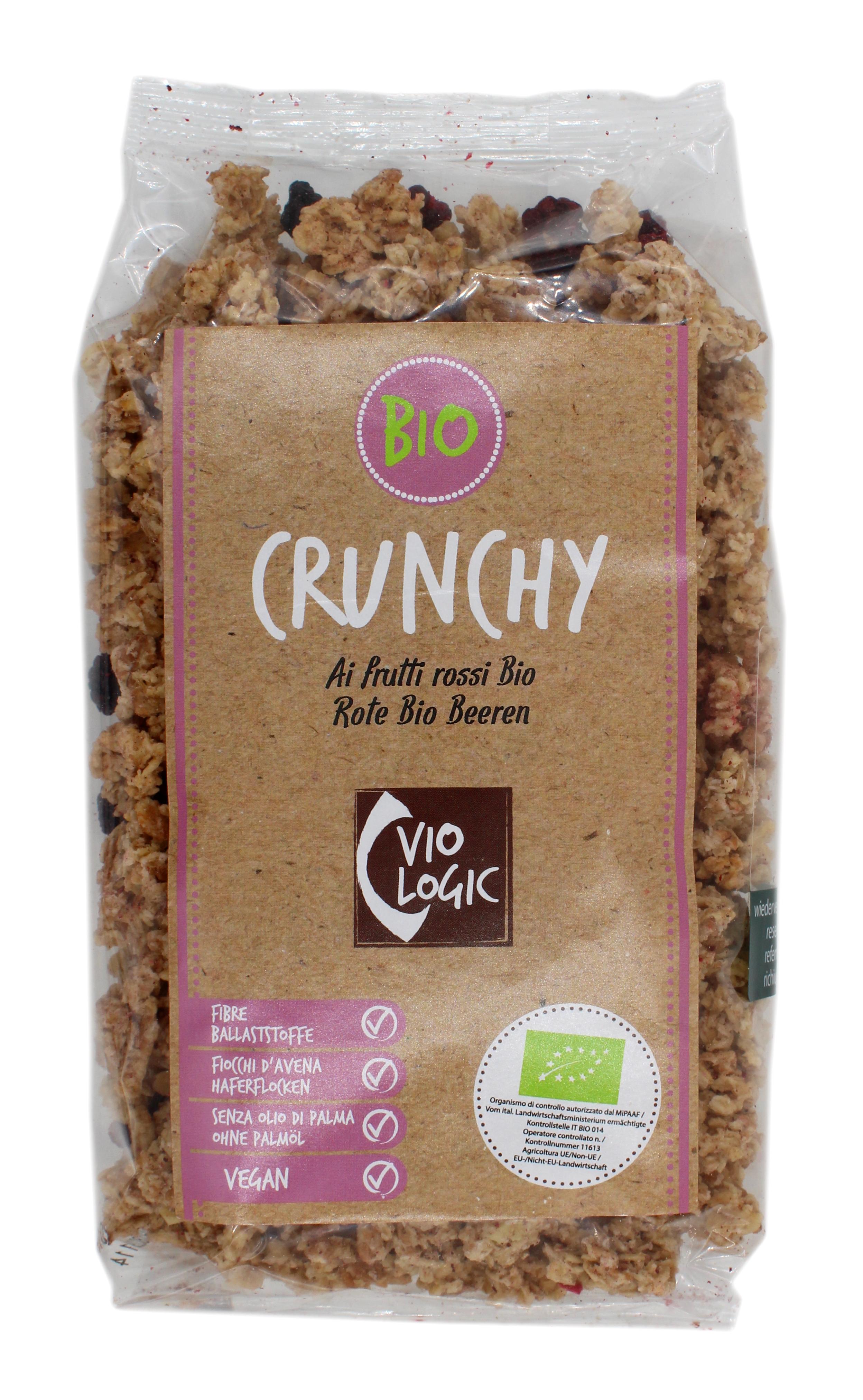 Crunchy Rote Bio-Beeren 375g
