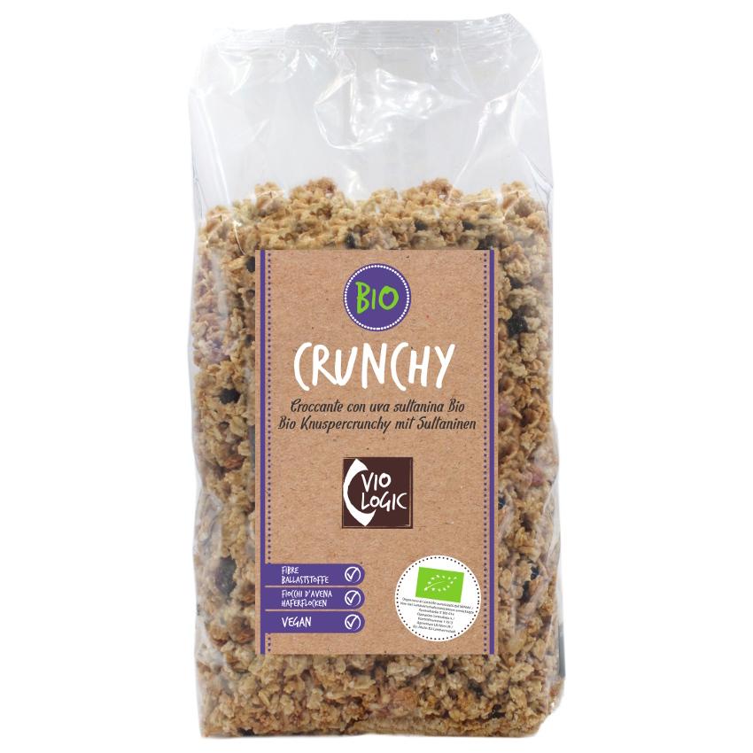 Crunchy Bio Knuspercrunchy mit Sultaninen 1kg