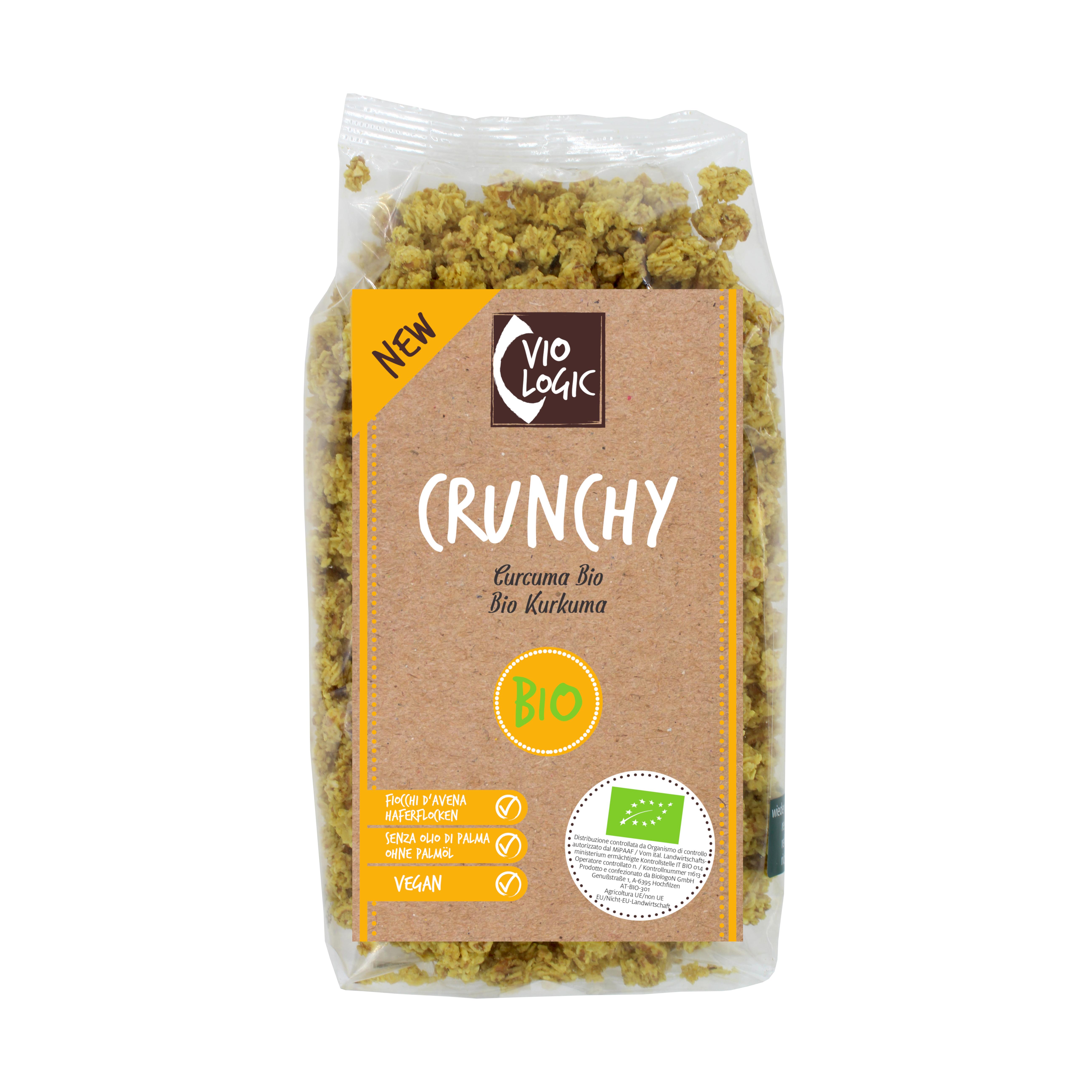 Crunchy Bio Kurkuma 375g