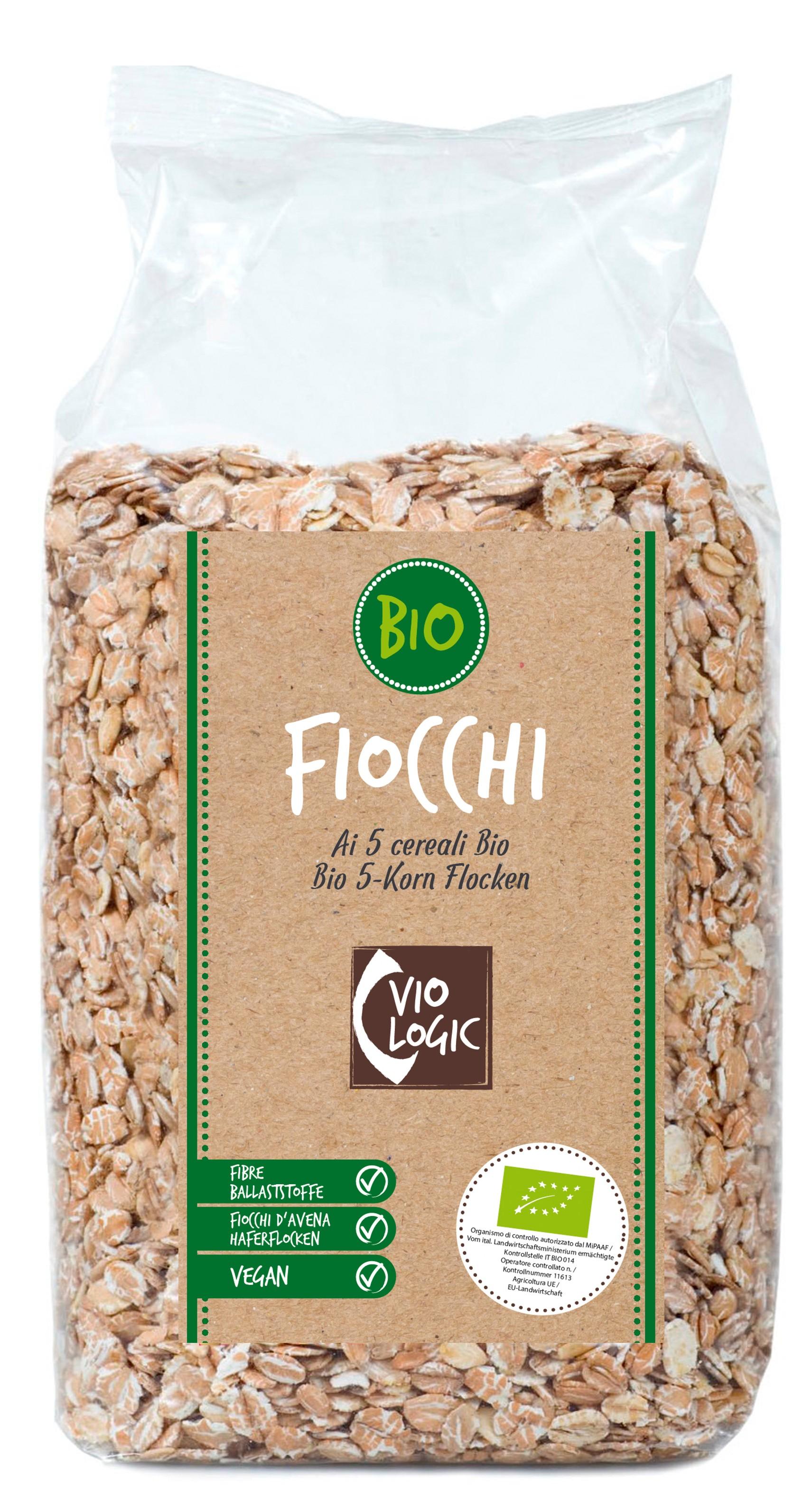 Bio 5-Korn Flocken 500g